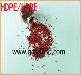 Plastikkörnchen-rote Farbe Masterbatch