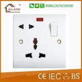 Interruptor electrónico de la pared de la cuadrilla caliente de la venta 4