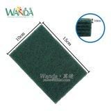 12pack熱い販売の磨くパッドの緑の研摩のスカウラー