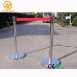 Barriera ritrattabile della cinghia/barriera pieghevole di controllo del sostegno/folla della barriera