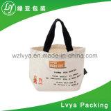 Sacchetti organici naturali ecologici e riutilizzabili su ordinazione promozionali della tela di canapa del Tote di acquisto del cotone