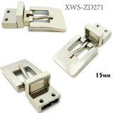 L'inarcamento di cinghia rovesciabile in lega di zinco di Pin dell'inarcamento del metallo di alta qualità per il vestito allaccia le borse dei pattini dell'indumento (XWS-ZD271)