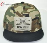 Commerce de gros Camo Snapback de tissu chapeau pour la conception de logo personnalisé (65050099)