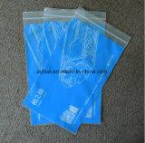 Imprimé en LDPE transparent Customzied sac à fermeture éclair
