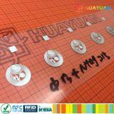 13.56MHz MIFARE Classic 1K NFC vinheta adesiva etiqueta de RFID para a recolha e intercâmbio de informações