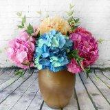 5 de Levering voor doorverkoop van de Fabriek van de Kunstbloem van de Hydrangea hortensia van de Zijde van stokken
