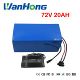 Batterie au lithium rechargeable de la batterie 2000W 72V 20ah de 72V Ebike