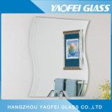 Specchio irregolare moderno della stanza da bagno di Frameless