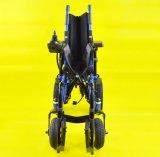 Tew005A Luxe die de Rolstoel van de Stroom met Pg Controlemechanisme vouwen
