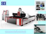 Heiße Verkauf 1500W CNC-Faser-Laser-Maschine für metallschneidendes und Stich