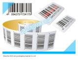Étiquettes de roulis de collant d'étiquette adhésive pour l'imprimante