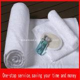 100% Algodón Hotel blanco toalla, toallas de baño, Toalla de mano