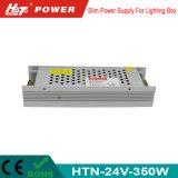 alimentazione elettrica di commutazione del trasformatore AC/DC di 24V 15A 350W LED Htn