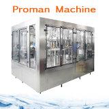 Maquinaria de enchimento de engarrafamento da gravidade da água mineral do frasco 500ml do animal de estimação pelo preço de custo da fábrica