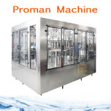 Mineralwasser-Schwerkraft-flüssige abfüllende Füllmaschine der Haustier-Flaschen-Flüssigkeit-500ml durch Herstellungskosten-Preis