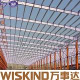 Langes Überspannungs-Baustahl-Rahmen-Baumaterial für Lager/Speicherung/Hallen