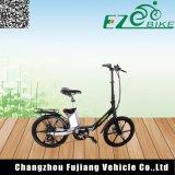 Chino mini bici eléctrica de 20 pulgadas para la hembra