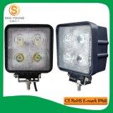 IP67 LED super brilhante luz de trabalho 40W 4 POLEGADAS LED Auto 24volts da luz de trabalho
