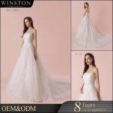 Neue Großhandelsentwurfs-China-nach Maß Hochzeits-Kleid