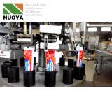 Queue du tube métallique de remplissage et de la machine d'étanchéité