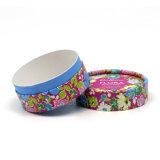 Ronda de boa qualidade e design floral bonita Caixa de jóias
