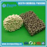 Filtro di ceramica dalla gomma piuma della grande allumina di formato per il materiale di filtrazione del metallo