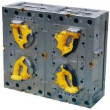 Double Color Injection Mould for Instrument Handle Shares