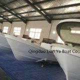 Liya 25pieds de la Chine Panga Bateau Bateau pour la pêche de la coque en fibre de verre