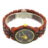 Bambou personnalisé de bois de santal montres pour hommes et femmes