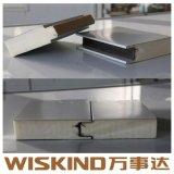 Los poliuretanos aislados de paneles sándwich de poliuretano para la construcción de la estructura de acero