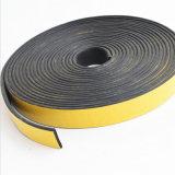 Esponja rectangular de espuma autoadhesiva tira de la junta de goma