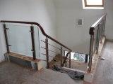 Balustrade professionnels de la conception du projet Frameless balcon Balustrade en acier inoxydable