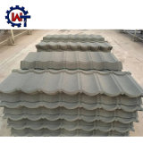 50 Anos de garantia de telhado de metal revestido a pedra de chapas de ferro no Quênia