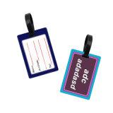 Venda por grosso de plástico branco Personalizado Sala Tag (Etiqueta de bagagem em PVC maleável