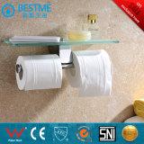 El cuarto de baño cromados Compresas de soporte de papel/Rollo de papel (BG-D1111)