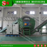 Shredwell 1-2tonnes/h/Rebut de coupe de ligne de recyclage des déchets à 50-150mm lambeaux de pneu