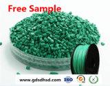 黒いカーボン炭酸カルシウムとの緑色Masterbatch
