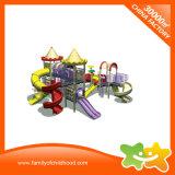 Spiraalvormige Dia van de Speelplaats van de Apparatuur van het Pretpark de Plastic Openlucht