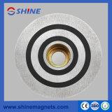 Recouvert de zinc colorés de béton préfabriqué Plaque de fixation magnétique (Socket aimant)