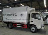 Dongfengの医学の輸送のトラック4X2の医学の屑の転送の手段
