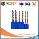 0,5 mm-25mm Aluminio carburo de tungsteno 3 flauta Extremo plano Mill