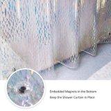 Mehltau-Freier EVA-Duschvorhang mit Rost geben Tüllen frei