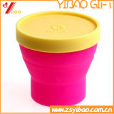 Il calore variopinto del commestibile resiste alla tazza del silicone