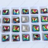 Pujiang Fabrik-dekorative Punkt-Rückseiten-Kristallraupen für Schmucksache-Zubehör