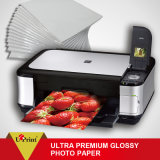 Usine directement d'alimentation papier photo brillant Premium Ultra