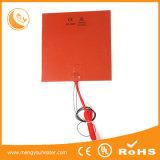 Подогреватель пояса нагрева электрическим током бочонка кремния резиновый