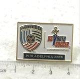 Изготовленный на заказ Pin отворотом школы годовщины металла 40th для сувенира (XG-29)