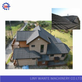 Tuiles de toit enduites de construction de pierre bon marché de matériaux