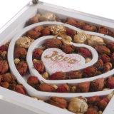나무로 되는 선물 보석함 포장, MDF 반지 또는 팔찌 패킹