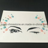 Joyas no tóxicas de la cara de la etiqueta engomada y etiqueta engomada temporal del tatuaje de la carrocería del sexo de la etiqueta engomada del ojo (S032)